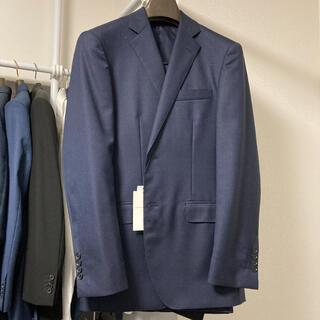 トゥモローランド(TOMORROWLAND)のメンズ スーツ トゥモローランド  セットアップ 上下 ネイビー 秋冬(セットアップ)