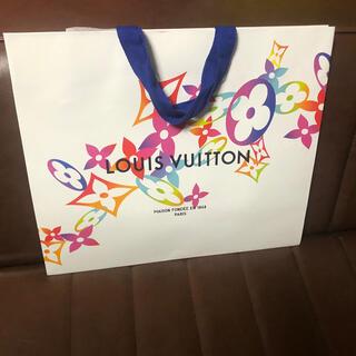 ルイヴィトン(LOUIS VUITTON)のルイヴィトン クリスマス限定 紙袋 小型バッグサイズ(ショップ袋)