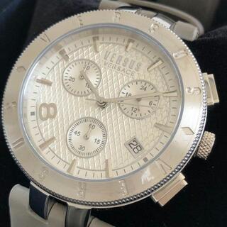 ジャンニヴェルサーチ(Gianni Versace)の新品《ヴェルサス ヴェルサーチ》VERSACE 腕時計 メンズ(腕時計(アナログ))
