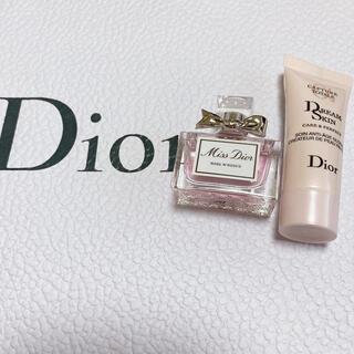ディオール(Dior)のDior ミスディオール ローズ&ローズ ミニボトル♡(香水(女性用))
