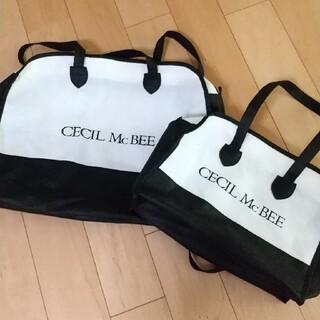 セシルマクビー(CECIL McBEE)のセシルマクビー ショップバッグ  二枚セット(ショップ袋)