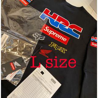 シュプリーム(Supreme)のSupreme®/Honda®/Fox® Racing Crewneck L(スウェット)