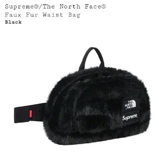 シュプリーム(Supreme)のSupreme The North Face  送料込 ウエストバッグ 黒(ウエストポーチ)