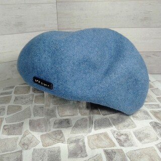アニエスベー(agnes b.)のmimic様専用 アニエスベー agnes.b  ブルー ベレー帽 (ハンチング/ベレー帽)