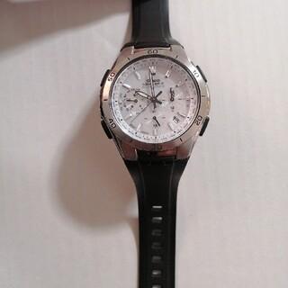 カシオ(CASIO)の 腕時計 ウェーブセプター ソーラー 時計 WVQM410 メンズ 美品 カシオ(腕時計(デジタル))