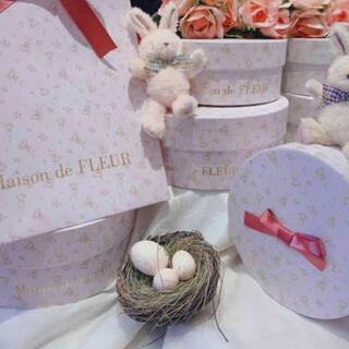 メゾンドフルール(Maison de FLEUR)のイースター ギフトボックス(ショップ袋)