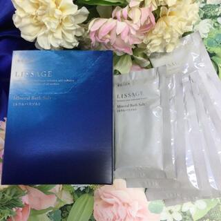 リサージ(LISSAGE)のリサージ バスソルト 薬用入浴剤 (6箱) ※掲載画像と個数が異なります(入浴剤/バスソルト)