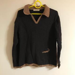 クロコダイル(Crocodile)のクロコダイル 襟付きセーター(ニット/セーター)