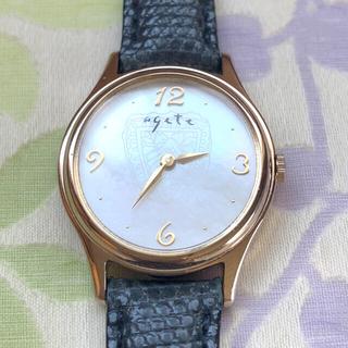 アガット(agete)のひまわり 様 😊 agete   ⑲   腕時計・稼動品✨(腕時計)