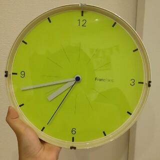 フランフラン(Francfranc)のchic様専用☆Francfranc掛時計(掛時計/柱時計)