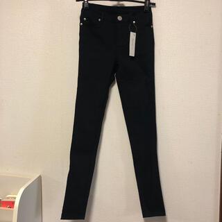 ユメテンボウ(夢展望)のスキニーパンツ 新品 ブラック S size(スキニーパンツ)