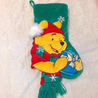 ディズニー(Disney)のプーさん クリスマス 靴下(その他)