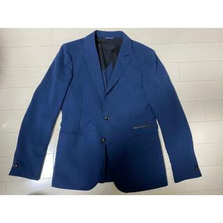ジュンハシモト(junhashimoto)の美品 ジュンハシモト ジャケット ネイビー サイズ2 TFW49(テーラードジャケット)