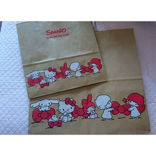 サンリオ(サンリオ)のサンリオ ショップ袋  おまけ付き(ショップ袋)