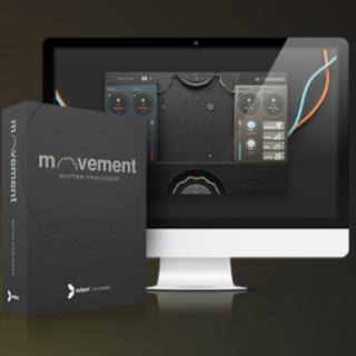 【正規品】Output Movement  v1.1 FXプラグイン(ソフトウェアプラグイン)
