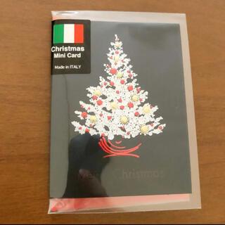 新品未使用未開封 クリスマスミニカード(カード/レター/ラッピング)