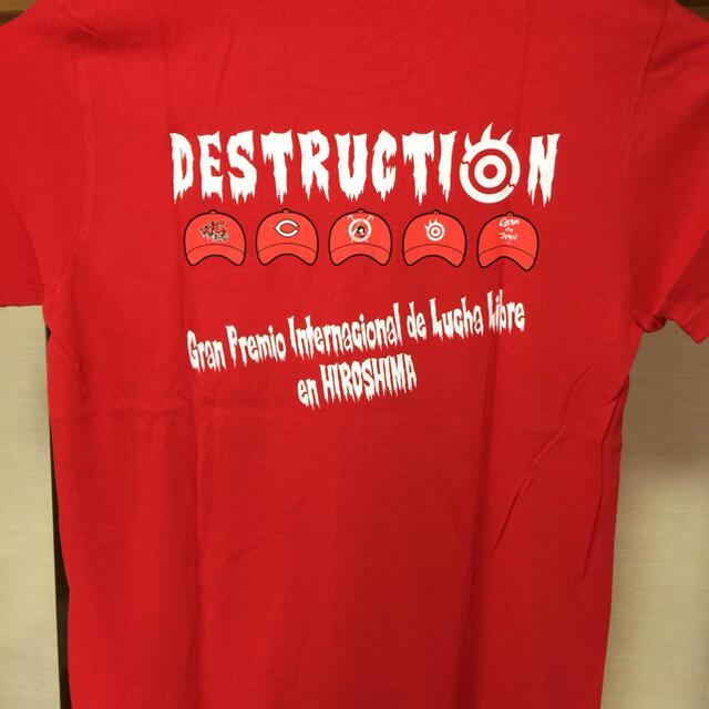 広島カープ✖️NJPW(新日本プロレス)コラボTシャツ メンズのトップス(Tシャツ/カットソー(半袖/袖なし))の商品写真
