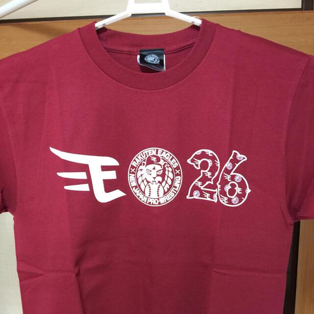 楽天イーグルス✖️NJPW(新日本プロレス)コラボTシャツ メンズのトップス(Tシャツ/カットソー(半袖/袖なし))の商品写真