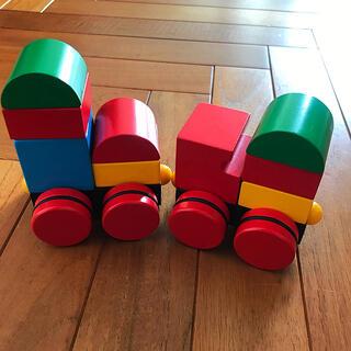 ブリオ(BRIO)のBRIO☆マグネット式スタッキングトレイン つみき 汽車(積み木/ブロック)