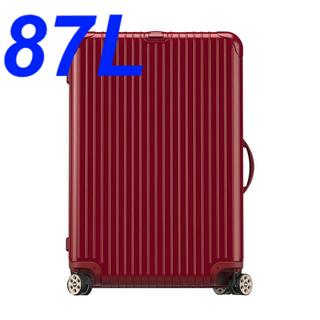 リモワ(RIMOWA)のリモワ 83173535 キャリーバック スーツケース レッド 87L(旅行用品)