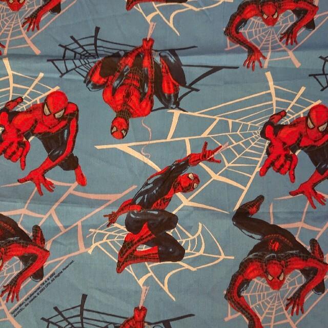 MARVEL(マーベル)の新品 スパイダーマン カットシーツ ハンドメイドの素材/材料(生地/糸)の商品写真