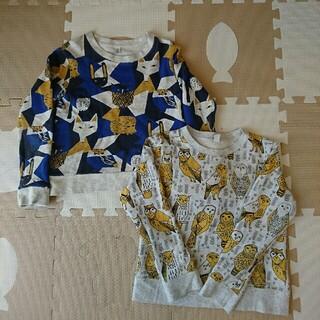 グラニフ(Design Tshirts Store graniph)のグラニフ トレーナー 2枚セット (Tシャツ/カットソー)