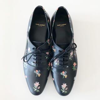 サンローラン(Saint Laurent)の【極美品】サンローラン  レースアップシューズ(ローファー/革靴)