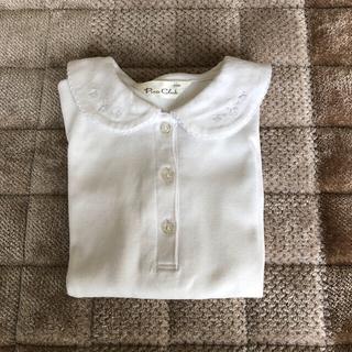 ベルメゾン(ベルメゾン)の綿100 厚手 長袖ブラウス(ブラウス)