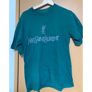 サンローラン(Saint Laurent)のイヴ・サンローラン90'sロゴTシャツ(Tシャツ(半袖/袖なし))