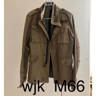ダブルジェーケー(wjk)のwjk M66 ミリタリージャケット サイズS インナー付き(ミリタリージャケット)