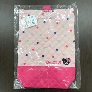 ダブルビー(DOUBLE.B)の(新品)ミキハウス日本製シューズバッグ(シューズバッグ)