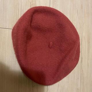 フリークスストア(FREAK'S STORE)のベレー帽 オレンジ(ハンチング/ベレー帽)