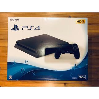 プレイステーション4(PlayStation4)のPlayStation4 本体 ジェットブラック【PS4プレステ4】(家庭用ゲーム機本体)