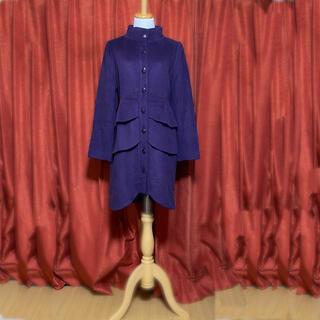 ⭐️値下げ⭐️tibi 紫のコート(ロングコート)