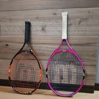 ウィルソン(wilson)のウィルソン テニスラケット ジュニア 21インチ・23インチ(ラケット)