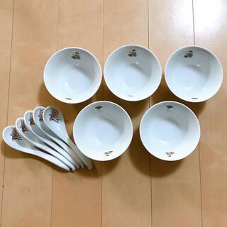 ナルミ(NARUMI)の新品 ナルミ 中華 腕 レンゲ 5セット(食器)