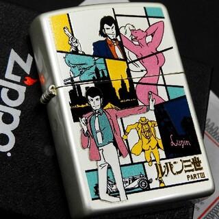 ジッポー(ZIPPO)の送料無料☆zippo☆激レア☆ルパン三世/PARTⅢ☆50th☆オールキャスト(タバコグッズ)