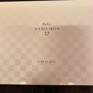 ルベル(ルベル)のルベル ルフォール ナノアイロン27ミリ(ヘアアイロン)