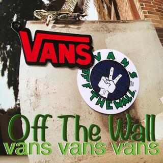 ヴァンズ(VANS)のVANSバンズ US限定 ロゴshoeタグ ステッカー おまけ付き 1点物(その他)