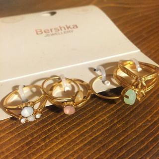 ベルシュカ(Bershka)のbershka♡天然石リングセット(リング(指輪))