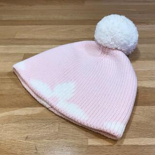 ルイヴィトン(LOUIS VUITTON)のかなりん様 超美品 ルイヴィトン ニット帽 ニットキャップ ビーニー ピンク (ニット帽/ビーニー)