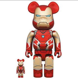 メディコムトイ(MEDICOM TOY)のbe@rbrick Iron Man Mark 85 100% 400% 3個(その他)
