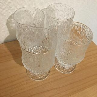 イッタラ(iittala)のiittala Ultima Thule レッドワイングラス 230ml 4個(グラス/カップ)