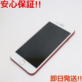 アイフォーン(iPhone)の良品中古 docomo iPhone7 PLUS 256GB レッド(スマートフォン本体)