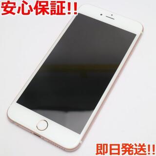 アイフォーン(iPhone)の美品 SIMフリー iPhone6S PLUS 16GB ローズゴールド (スマートフォン本体)