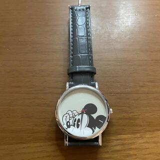 タカラジマシャ(宝島社)のSPRiNG 雑誌付録 時計 ミッキー(腕時計)