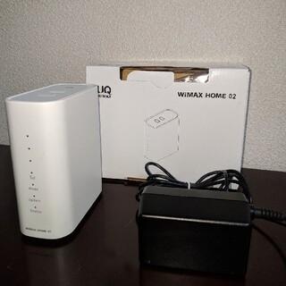 ホームルーター WiMAX HOME 02(その他)