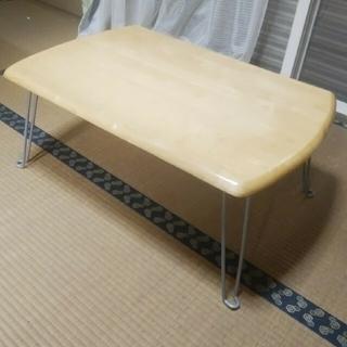 ニトリ(ニトリ)の直接取引に限ります ニトリのローテーブル(足折りたたみ)(ローテーブル)
