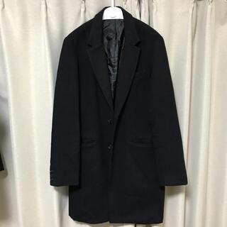 WEGO チェスターコート Mサイズ 黒 ブラック(チェスターコート)