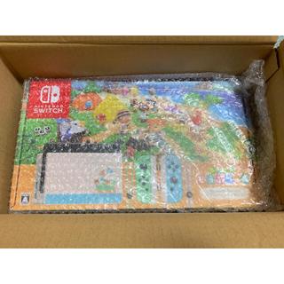 ニンテンドースイッチ(Nintendo Switch)の送料込 新品未開封 ニンテンドースイッチ あつまれ どうぶつの森 セット(家庭用ゲーム機本体)